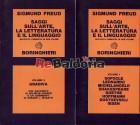 Saggi sull'arte, la letteratura e il linguaggio - Raccolta completa in due volumi - Vol. 1: Sofocle, Leonardo, Michelangelo, Sh