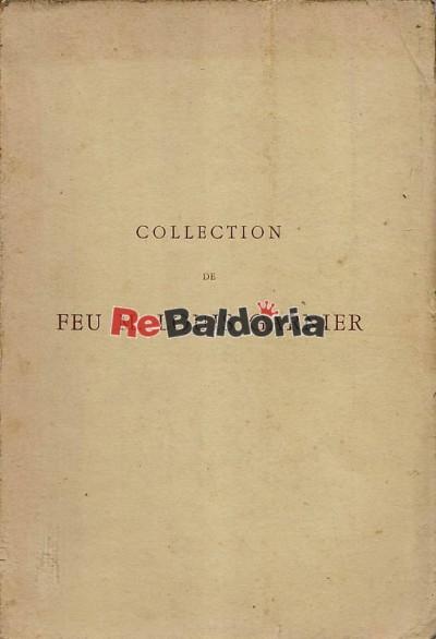 Collection de Feu M. Louis Garnier Catalogue des stampes anciennes & modernes