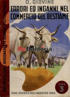 Errori ed inganni nel commercio del bestiame