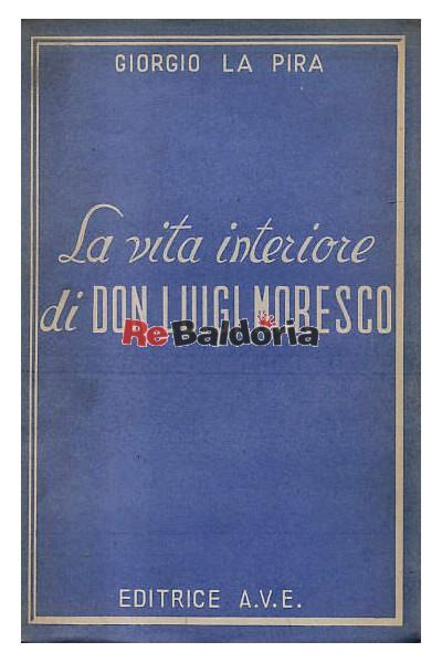 La vita interiore di Don Luigi Moresco