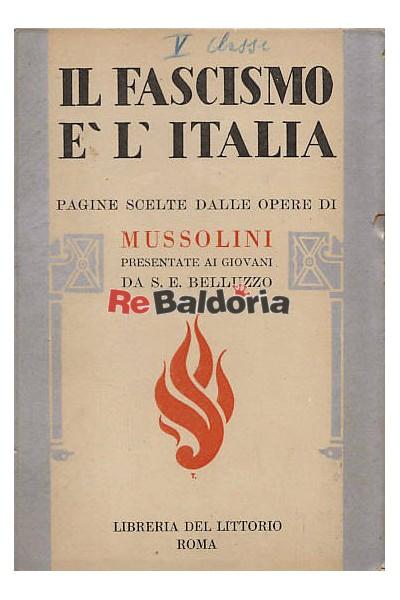 Il Fascismo e l'Italia