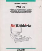 Personal computer PCS 33