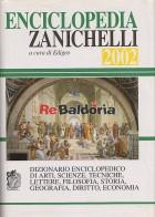 Enciclopedia Zanichelli 2002