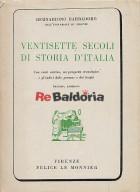 Ventisette secoli di storia d'Italia