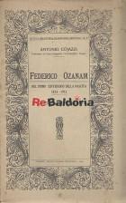 Federico Ozanam nel primo centenario della nascita 1813-1913