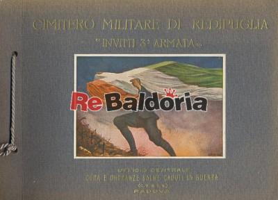 """Cimitero Militare di Redipuglia """"Invitti 3a Armata"""" Ufficio Centrale Cura e Onoranze Salme e Caduti in Guerra"""