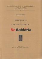 Bibliografia di Giacomo Zanella