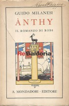 Anthy - Il romanzo di Rodi