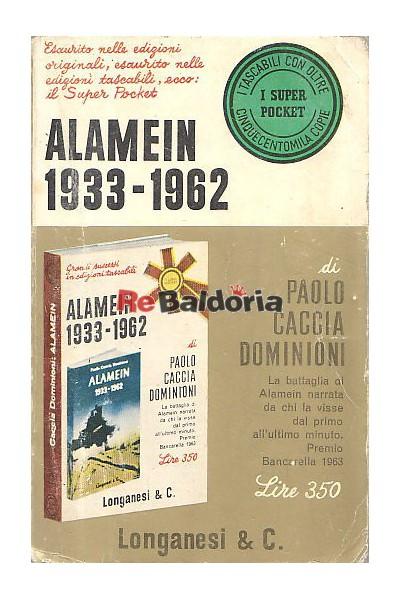 Alamein 1933 - 1962