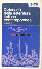 Dizionario della letteratura italiana contemporanea