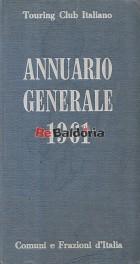 Annuario generale 1961