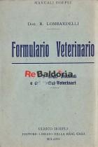 Formulario veterinario