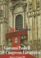 Giovanni Paolo II nel 20° Congresso Eucaristico Milano 14-22 maggio 1983