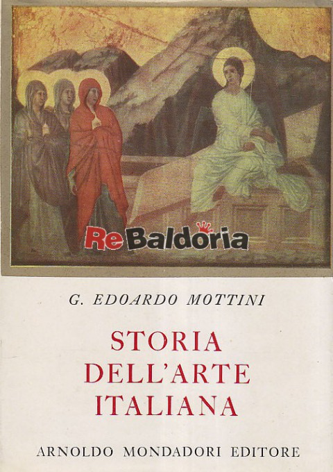 Storia dell 39 arte italiana g edoardo mottini arnoldo for Adorno storia dell arte