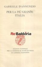 Per la più grande Italia