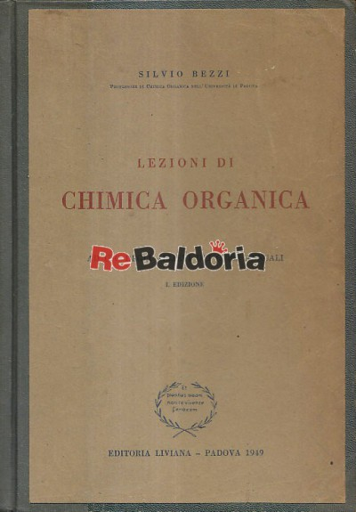 Lezioni di chimica organica