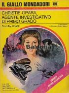 Christie Opara, agente investigativo di primo grado