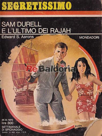 Sam Durell e l'ultimo dei Rajah