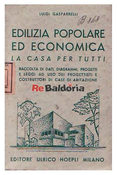 Edilizia popolare ed economica