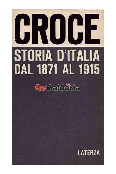 Storia d'Italia del 1871 al 1915