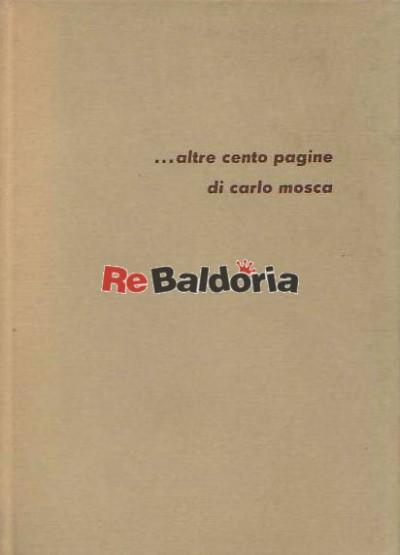... altre cento pagine di Carlo Mosca