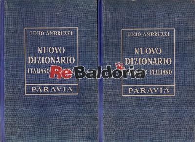 Nuovo dizionario italiano-spagnolo