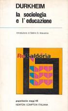 La sociologia e l'educazione