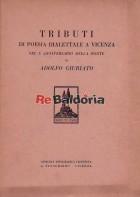 Tributi di poesia dialettale a Vicenza nel x anniversario della morte di Adolfo Giuriato
