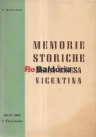 Memorie Storiche Della Chiesa Vicentina - Il Trecento