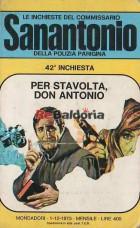 Sanantonio - Per stavolta, Don Antonio