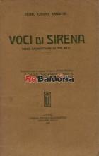 Voci di Sirena - scene drammatiche in tre atti