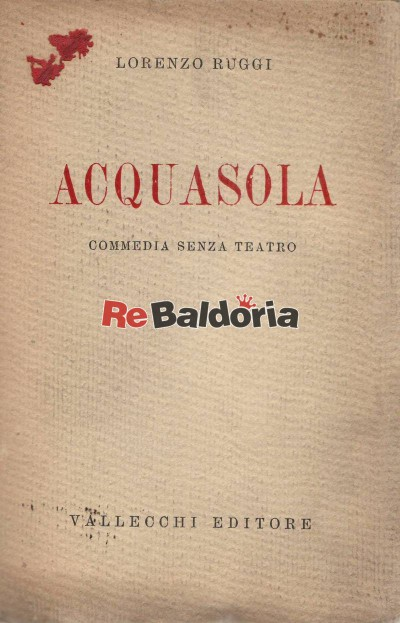 Acquasola - commedia senza teatro
