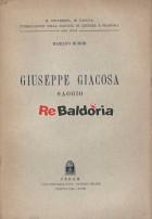 Giuseppe Giacosa - saggio