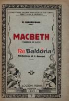 Macbeth - tragedia in 5 atti
