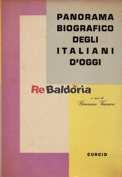 Panorama biografico degli italiani d'oggi vol. 1 - 2