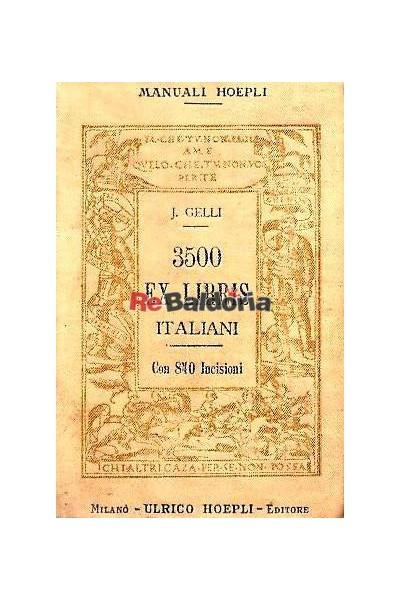 3500 ex libris italiani
