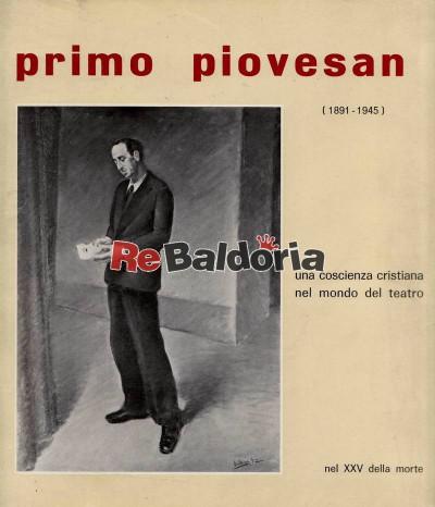 Primo Piovesan (1891 - 1945)