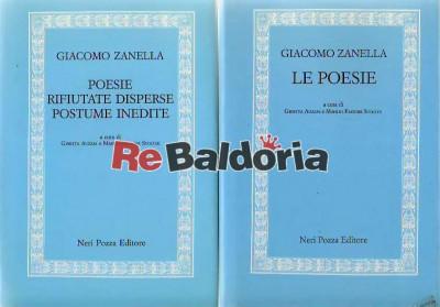 Le poesie - vol. 1 Poesie rifiutate disperse postume inedite - vol.2