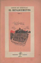 Il Rinascimento vol. 1° - Savonarola Cesare Borgia