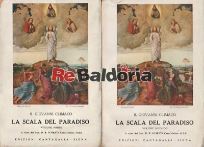 La Scala del Paradiso Volume 1° e 2°