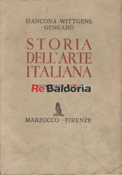 Storia Dell' Arte Italiana Vol. 2°