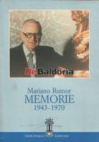 Mariano Rumor Memorie (1943-1970)