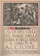 Laudi Del Cielo Del Mare Della Terra E Degli Eroi Libro III Alcione