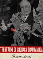 Trent'anni di cronaca drammatica - IV vol. 1933 - 1945