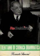 Trent'anni di cronaca drammatica - V vol. 1946 - 1952
