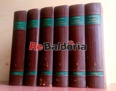 Storia universale - opera completa in 6 volumi