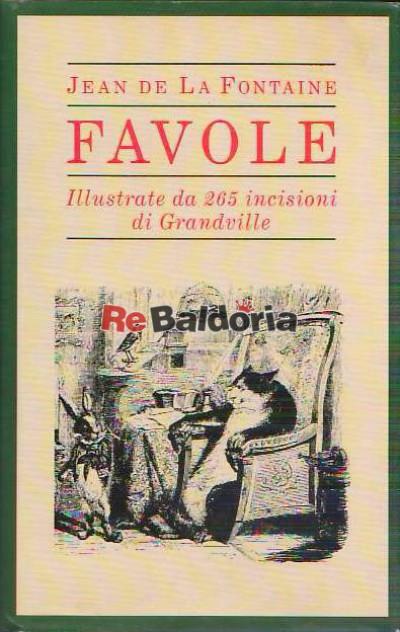 Favole illustrate da Grandville
