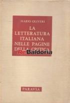 La letteratura italiana nelle pagine della critica