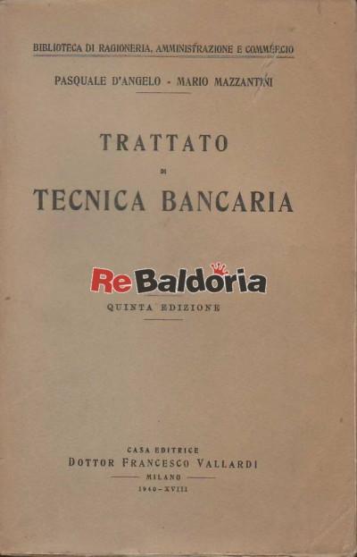Trattato di tecnica bancaria