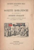 Sonetti romaneschi con un'appendice di sonetti italiani